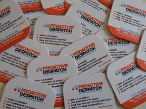 Proactive Despatch Branded Coasters